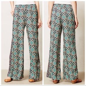 Anthropologie Lilka Tiburon Wide Leg Pants